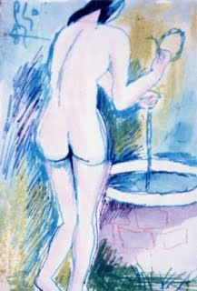 007.Vẻ đẹp thân thể nữ trong tranh Bùi Xuân Phái